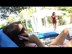 MILF fingers her stepdaughter