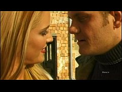 Rocco Siffredi's blonde slave in stockings buggered