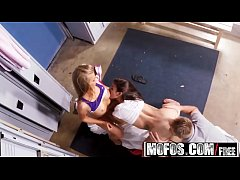Mofos - Pervs On Patrol - Naughty Burglars Share a Dick starring Kaylee Jewel and Michelle Martinez