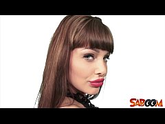 Hot babe Aletta Ocean POV at Saboom