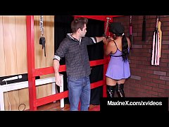 Cambodian Cock Fucker, Maxine X, catches a hard dick thief & punishes & fucks him with her warm mouth & juicy wet snatch, in her dungeon basement fuck room! Full Video & Maxine X Live @ MaxineX.com!