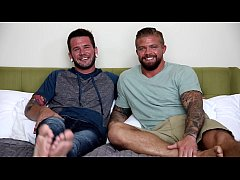 NextDoorBuddies Hot Tatted Beefcake's First Time!!