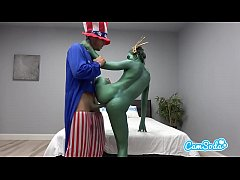 Camsoda - Statue of Liberty Fucks Uncle Sam