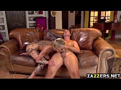 Keiran Lee stuffs Bella Bellz oily asshole