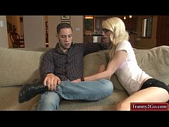 sdNerd shemale Holly Parker screwed in ass by horny dude
