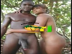 afro jamaicans fucking outdoors