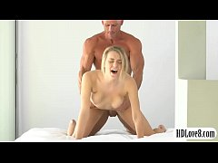 Pretty blonde fucked doggy style