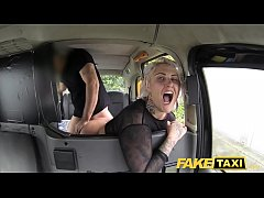 Fake Taxi blonde milf gets surprise anal sex and rims the driver