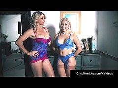 Hot VNA Girls Cristi Ann & Vicky Vette Hitachi Their Pussies