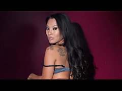 Black Light Rainy Night with Abigal Mac & Ava Addams