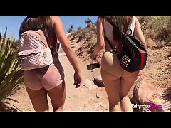 HD Rahyndee James Fucks Lana Rhoades Big Booty Babes Hiking Adventure