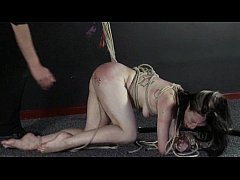 Amateur slavegirl Fae Corbin punished