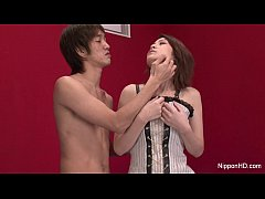 Japanese teen makes herself cum