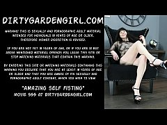 Dirtygardengirl amazing self fisting