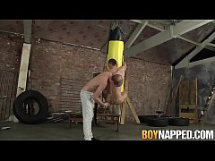 Sean Taylor and Michael Wyatt have fun with kin...