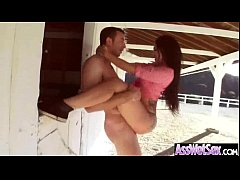 (mandy muse) Big Butt Girl Get Oiled And Hard D...