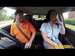 HD Fake Driving School Candi Kayne returns just for instructors big cock