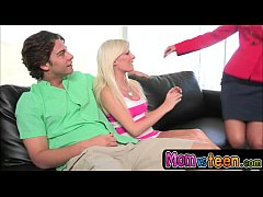 Showering with a MILF with Diana Doll and Seth Gamble