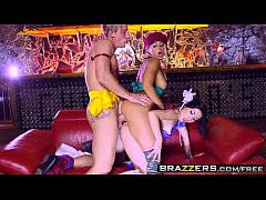 Brazzers - Brazzers Exxtra - Christen Courtney Rina Ellis and Luke Hardy