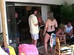 Mature Swinger Pool Party