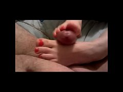 amateur wife creampie compilation with footjob