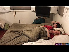 Clip sex Stepmom shares bed with stepson - Erin Electra