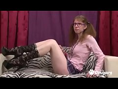 ugly chick masterbates on webcam