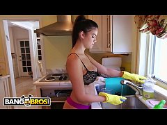 bangbros - pretty housekeeper agrees to do her job naked... and then gets fucked