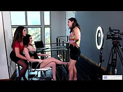 Workplace rules... not approved - April O'Neil, Jade Baker and Victoria Voxxx