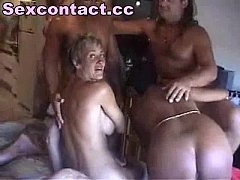 Swinger sexparty with mature amateur couple orgy