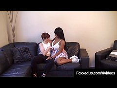 Black Swan Jenna Foxx & Lily Cade Do Couch Sex Confessions!