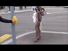 Best Mom Flashing in Thighboots. See pt2 at god...