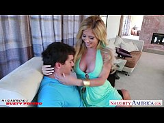 Big titted blonde Tasha Reign gets nailed