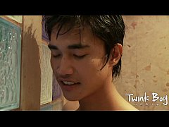 TWINK BOY MEDIA Asian Twinks in the toilet
