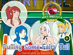 Pulling Some Fairy Tail - Adult Android Game - hentaimobilegames.blogspot.com