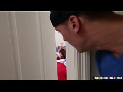 innocent 18yo teen sally squirt gets banged out on bangbros bbe14995