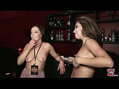 GIRLS GONE WILD - Wet Bar for Two Young Teen Lesbian Amateurs