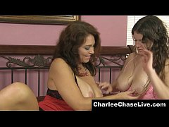 Sexy Florida MILF Charlee Chase takes a nervous shy teen and slowly teases her big soft tits until she gets turned on and starts to return the favor. Meet and cam LIVE with Charlee at CharleeChaseLIve.com!