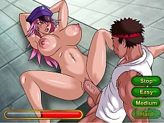 Poison fuck from Street Fighter
