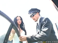 Big Tits at Work - Driving Miss. Bitoni