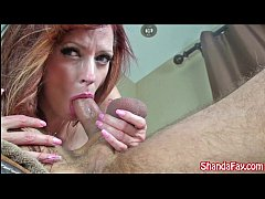 Kinky Canadian MILF Shanda Fay Wants To Suck You Off!