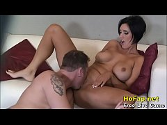 horny big tits milf fucked after shower