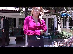 Real Estate Agent Krissy Lynn does anything to seal the deal
