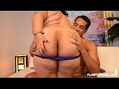Big Booty Latina Karla Lane gets her ass filled by huge cock