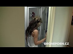 Czech chick Lenka. Spy cam in shower