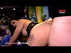 Super hot babe Mira Cuckold gets her tight pussy pounded hard and her pretty face cum covered! German Goo Girls