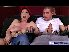 Sex Scene With Big Melon Tits Wife (rayveness) movie-23