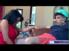 (Veronica Avluv) Superb Busty Housewife Get Hard Bang On Cam movie-28
