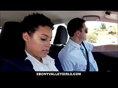 Ebony Black Valley Girl Teen Amethyst Banks Fucked By White Driving Teacher