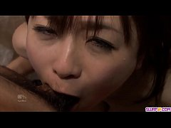 Nozomi Hazuki ends masive porn play with cum on face  - More at Slurpjp.com